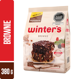 Premezcla WINTERS Brownie 380g